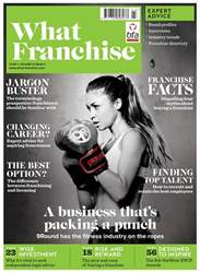 What Franchise Magazine Cover