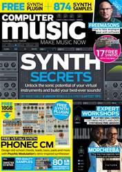 Computer Music issue September 2018