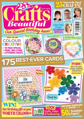 Crafts Beautiful issue Sep-18