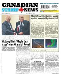 Canadian Stamp News issue V43#07 - July 24