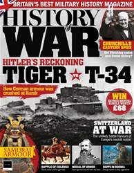 History of War Magazine Cover