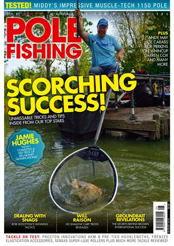Pole Fishing issue August 2018