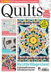 Down Under Quilts issue Down Under Quilts