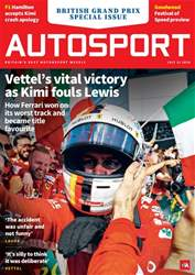 Autosport issue 12th July 2018