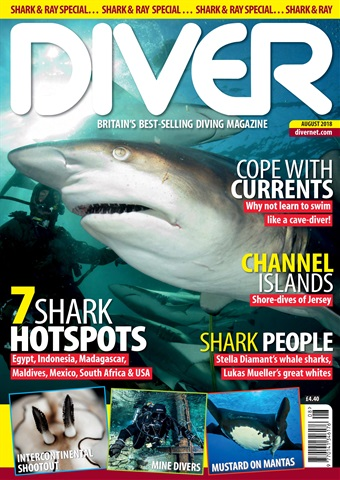 DIVER issue AUGUST 2018