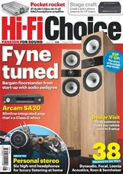 Hi-Fi Choice issue Aug-18