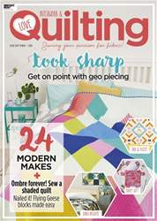 Love Patchwork & Quilting issue Issue 63