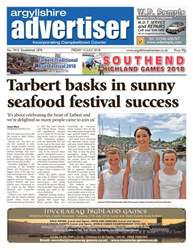 Argyllshire Advertiser issue 13 July 2018