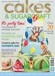Cakes & Sugarcraft Magazine Cover
