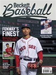 Beckett Baseball issue August 2018