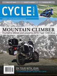 Cycle Canada issue August 2018