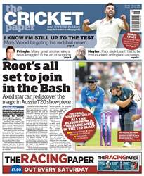 The Cricket Paper issue 13th July 2018