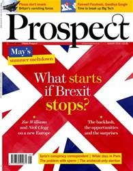 Prospect Magazine issue Aug-18