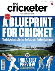 The Cricketer Magazine issue August 2018
