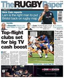 The Rugby Paper issue 15th July 2018