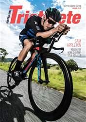 Australian Triathlete Magazine Cover