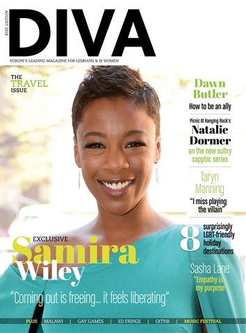 DIVA Magazine issue August 2018
