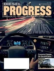 Diesel Progress Magazine Cover