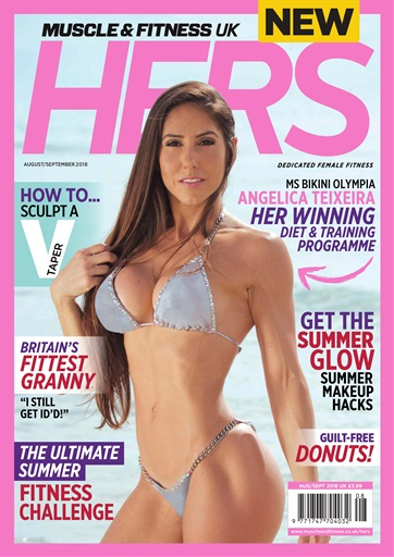 8831ec3ef80 Muscle   Fitness Hers Magazine - Aug   Sep 2018 Subscriptions ...