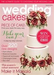 Wedding Cakes Magazine Cover