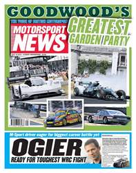 Motorsport News issue 18th July 2018