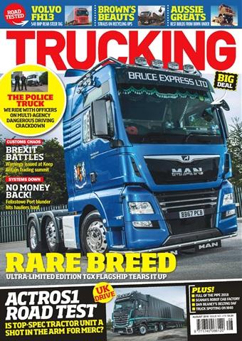 Trucking Magazine issue August 2018