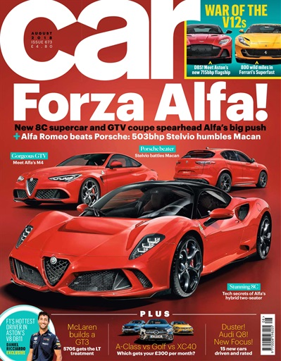 Car Magazine August 2018 Subscriptions Pocketmags