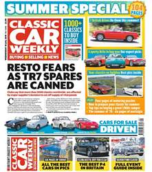 Classic Car Weekly issue 18th July 2018