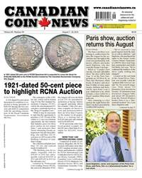 Canadian Coin News issue V56#09 - August 7