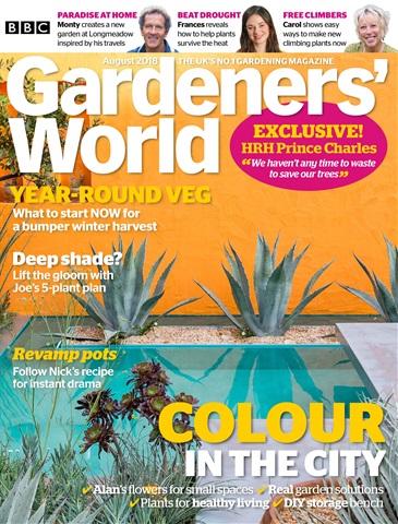 Gardeners' World issue August 2018