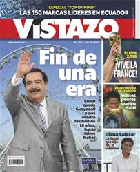 Revista Vistazo issue VISTAZO 1222