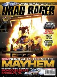 Drag Racer issue September 2018