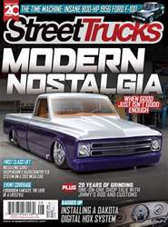 Street Trucks issue August 2018
