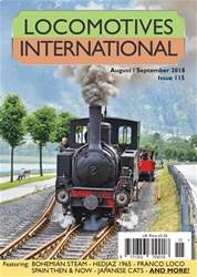 Locomotives International issue Issue 115 -August September 2018