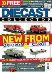 Diecast Collector issue September 2018