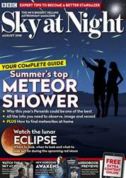 BBC Sky at Night Magazine issue August 2018