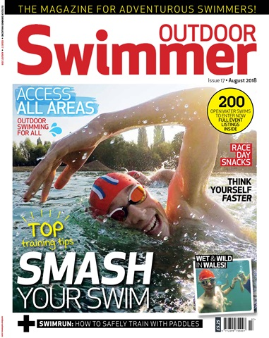 Outdoor Swimmer issue August 2018