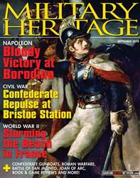 Military Heritage issue September 2018