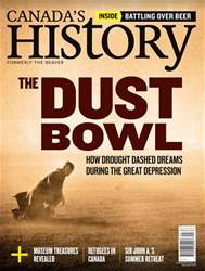 Canada's History issue Aug/Sep 2018