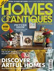 Homes & Antiques Magazine issue The Art Issue