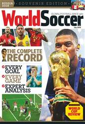 World Soccer issue July 2018