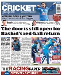 The Cricket Paper issue 20th July 2018