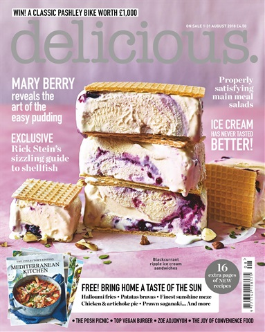 Delicious Magazine issue August 2018