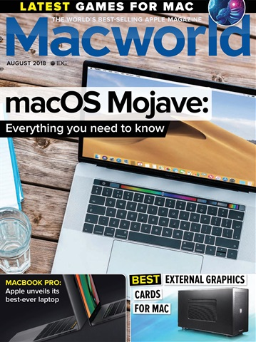 Macworld UK issue Aug-18