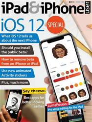iPad and iPhone User issue Issue 134