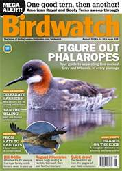 Birdwatch Magazine issue August 2018