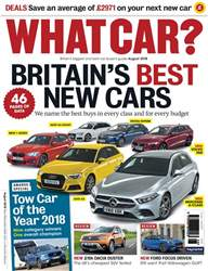What Car Magazine issue August 2018