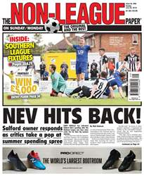 The Non-League Football Paper issue 22nd July 2018