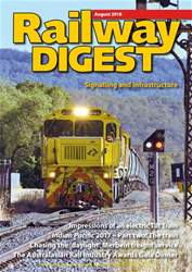 Railway Digest issue August 2018