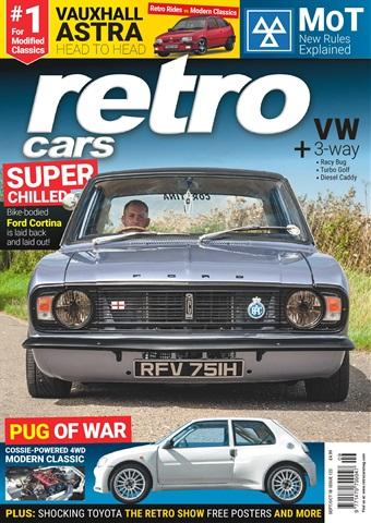 Retro Cars issue Sep-Oct 2018